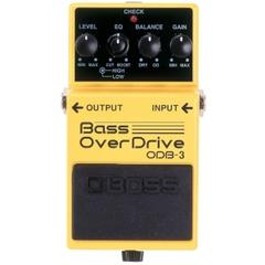 BOSS ODB-3 Bass OverDrive педаль для бас-гитары